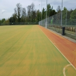 Needlepunch Synthetic Surfacing in Abbess End 12