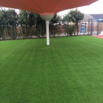 Installing Artificial Leisure Grass in Aaron's Hill 4