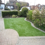 Installing Artificial Leisure Grass in Aaron's Hill 5